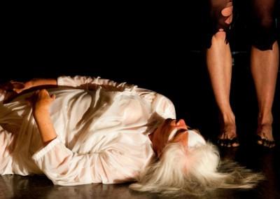 "-""War Cry""; Brigitta & Laina; 2008; Photo credit: Mako - www.makophotgraphe.com Choreography- Laina Fischbeck; 2008 -2"
